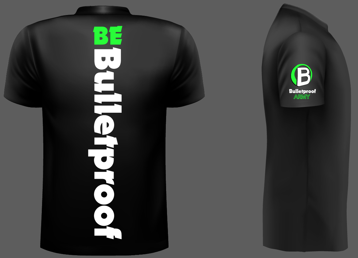 Bulleproof Army T Shirt